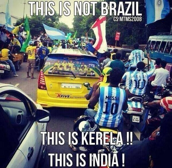 Kerala- during the World Cup